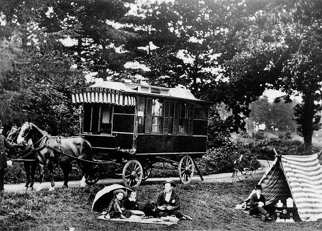 The Wanderer, la curiosa caravana del siglo XIX
