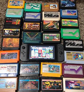 Nintendo switch とファミコンソフト