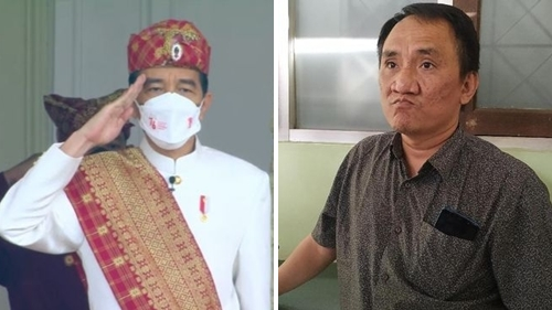 Pakai Baju Adat Lampung di HUT 76 RI, Jokowi Dicibir Andi Arief