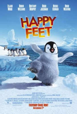 Happy Feet 2006 Dual Audio Hindi 720p BluRay 750mb