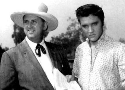 Coronel Parker e Elvis presley 1956