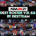 [LATEST UPDATE] NBA 2K21 DEST ROSTER V21.9.5 (September 5, 2021)  + 99  Teams WITH ALL NEW 2022 ROOKIES + FIBA + LATEST TRANSACTIONS AIO by destteam