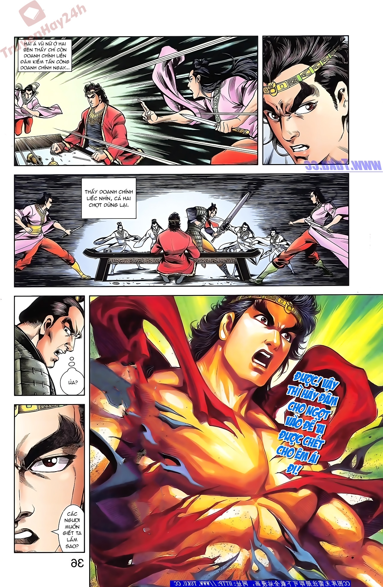 Tần Vương Doanh Chính chapter 43 trang 8