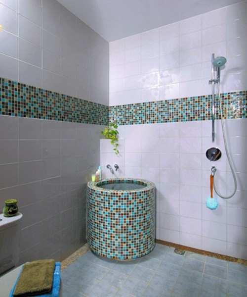 25 Desain Keramik Untuk Kamar Mandi Terbaru - Desain Rumah