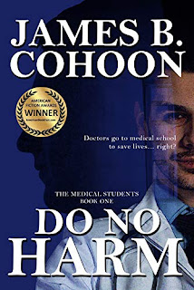 Do No Harm - a thriller by James B. Cohoon book promotion sites