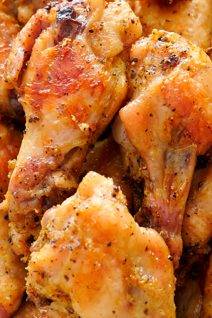 Lemon Pepper Chicken Wings Recipe