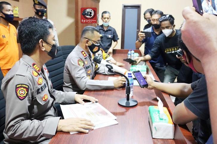 Rilis Akhir Tahun 2020, Polres Takalar Berhasil Tekan Angka Kriminalitas