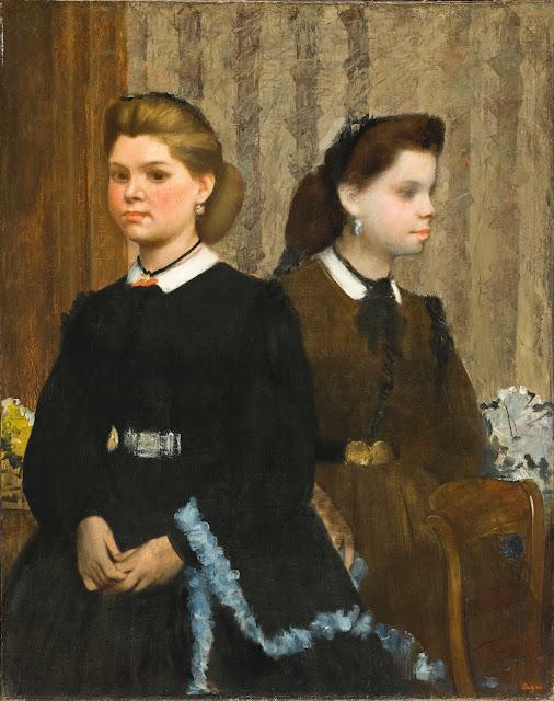 Эдгар Дега - Сёстры Джованна и Джулиана Беллелли (1865-1866)