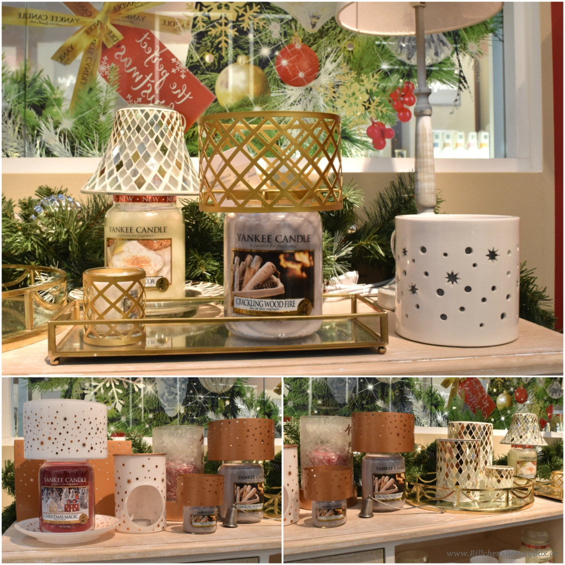 Yankee Candle - The Perfect Christmas Kollektion, Düfte und Accessoires