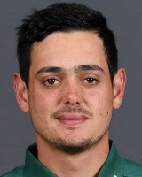 Quinton de Kock in India vs. South Africa ICC Cricket World Cup 2019