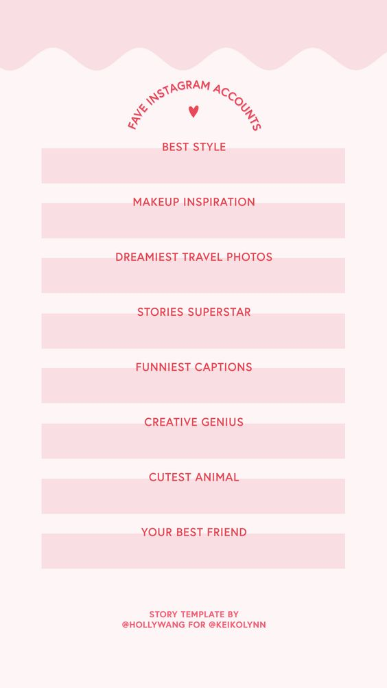 free instagram story template new year 2020