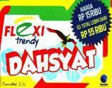 Hati-hati dengan kartu perdana Flexi trendy DAHSYAT