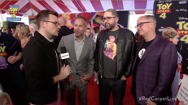 Toy Story 4 Josh Cooley, Jonas Rivera and Mark Nielsen