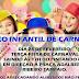 Bloco infantil de Carnaval em Ruy Barbosa