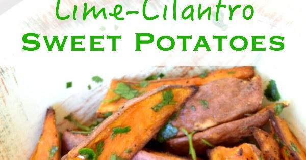 Ms. Toody Goo Shoes: Lime-Cilantro Sweet Potatoes