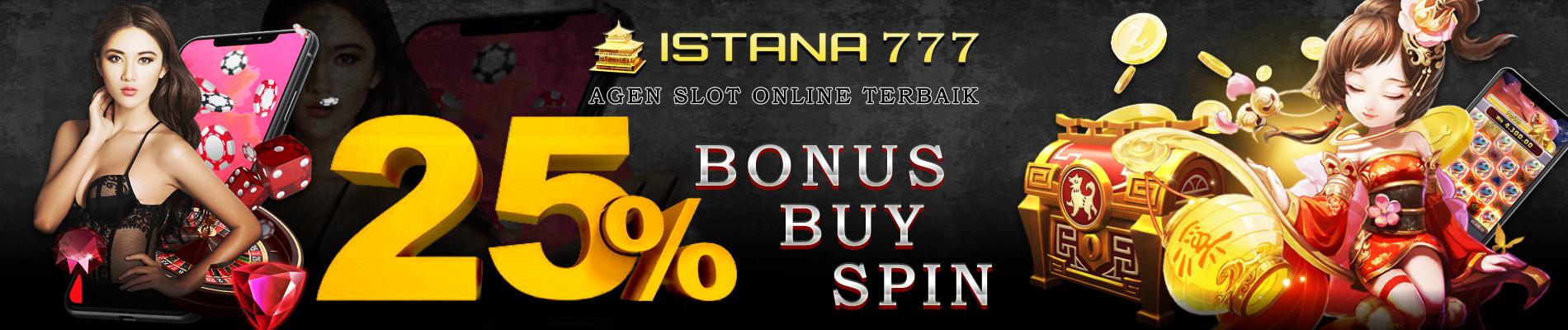 Bonus Buy Spin 25%