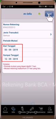 Cara Mutasi BCA Mengunakan m-BCA 6
