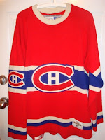 NHL CCM Heritage Jersey Collection - Montreal Canadiens Circa 1929