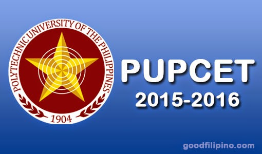 PUPCET Results 2015 Online (AY 2015-2016)
