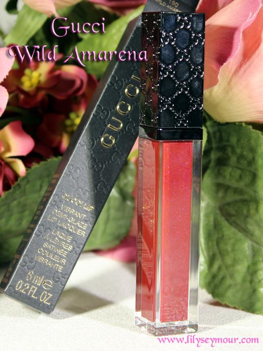 Gucci Wild Amarena Lip Lacquer
