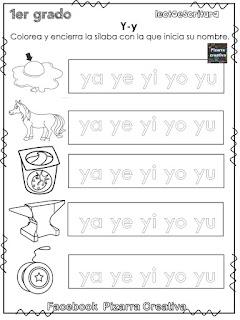 Silabario con imágenes pdf