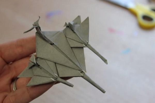 Hướng dẫn chiến đấu cơ Fighter plane bằng giấy