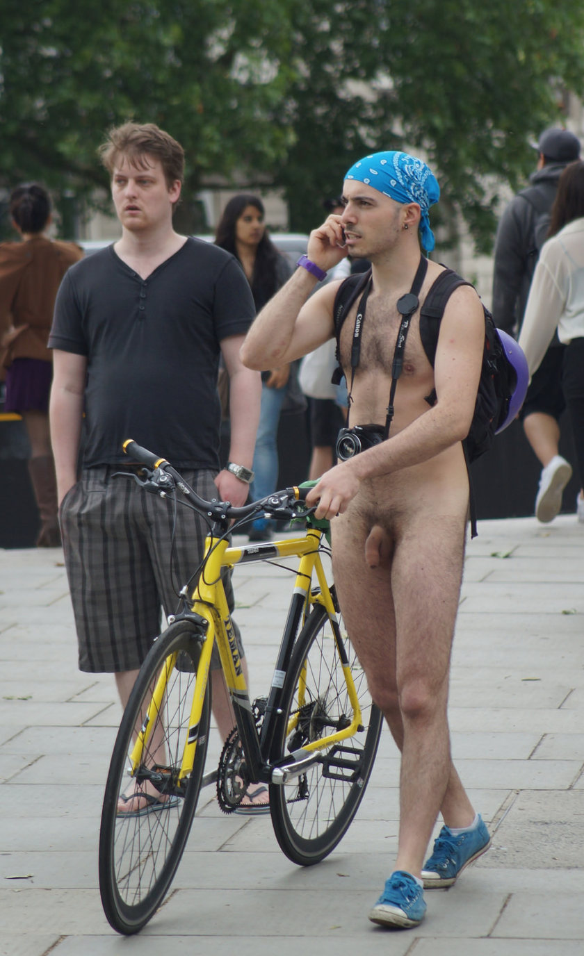 London Naked Bike Ride Photos
