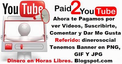 dinero en horas libres youtube