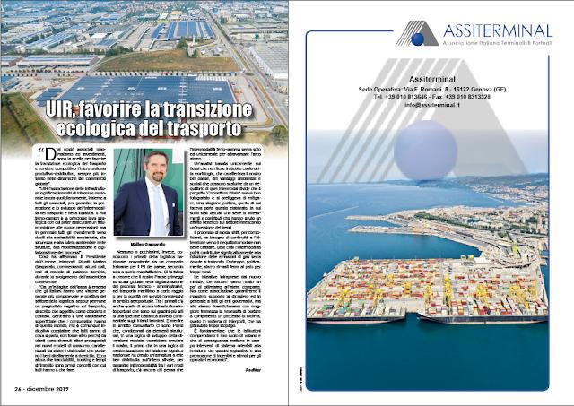 DICEMBRE 2019 PAG. 26 - UIR, favorire la transizione ecologica del trasporto