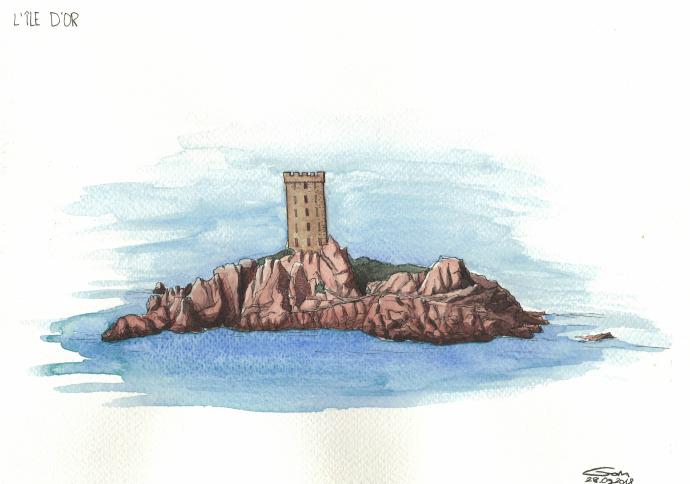 île d'or côte d'azur