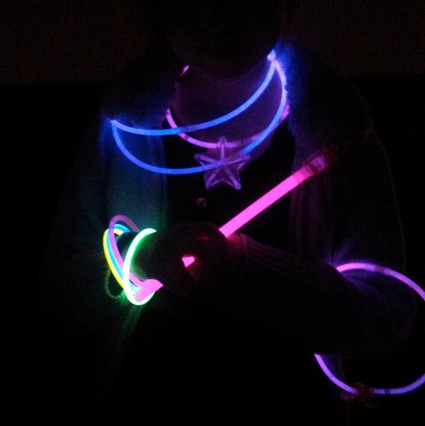 Blackout Night (aka glow in the dark night) is always a favorite with the kids.