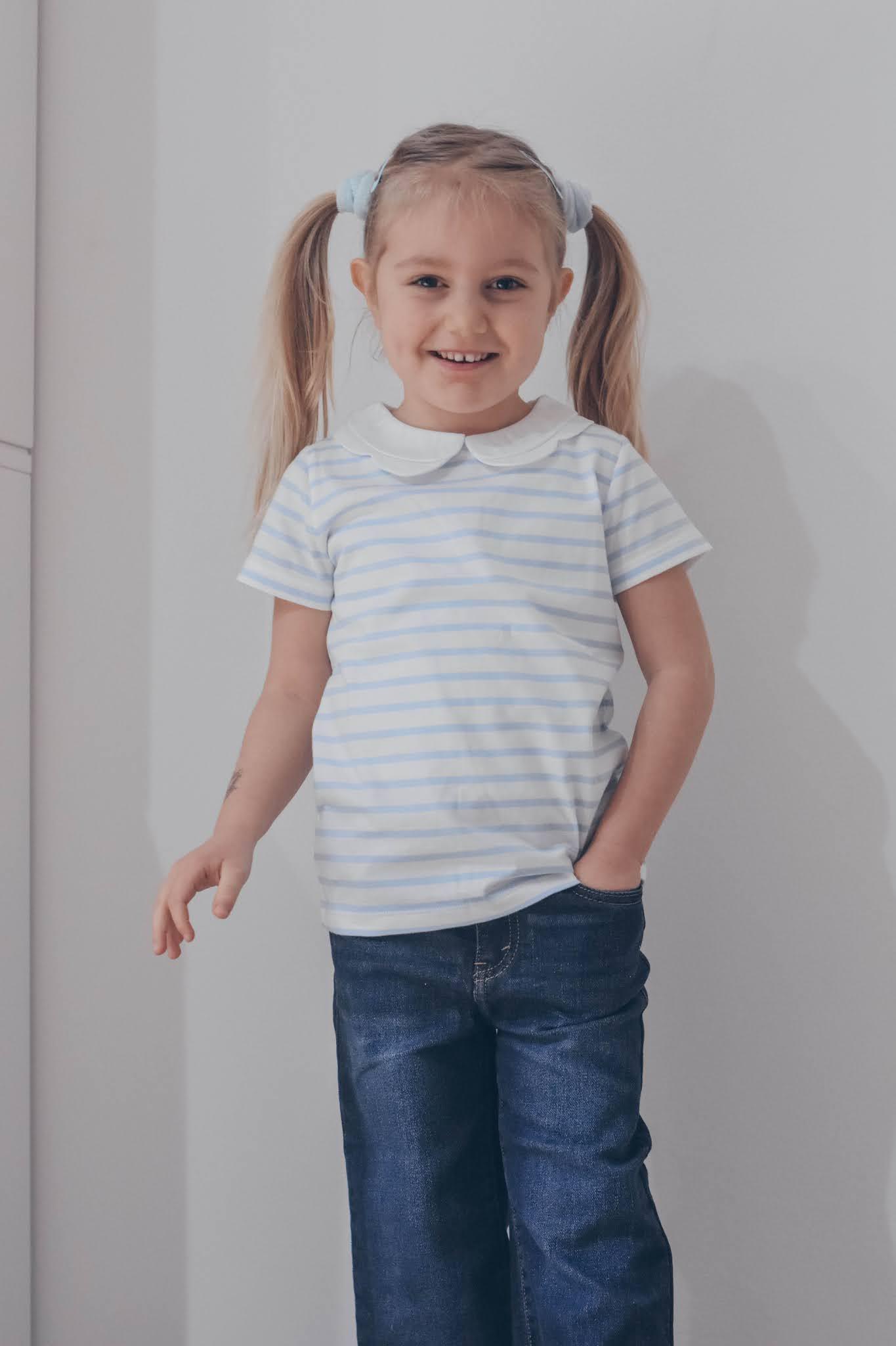 t-shirt marinara bambina