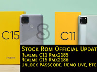 Stock Rom Official Realme C11 Rmx2185 / Realme C15 Rmx2186 Mediatek | Flashing Lupa Password, Pola, Fix Demo Live