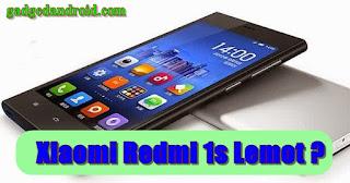 Cara Mengatasi Xiaomi Redmi 1s Lemot atau Lelet