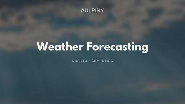 Weather Forecasting
