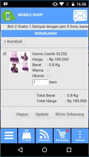 aplikasi online shop gratis