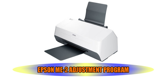 EPSON ME-2 PRINTER ADJUSTMENT PROGRAM