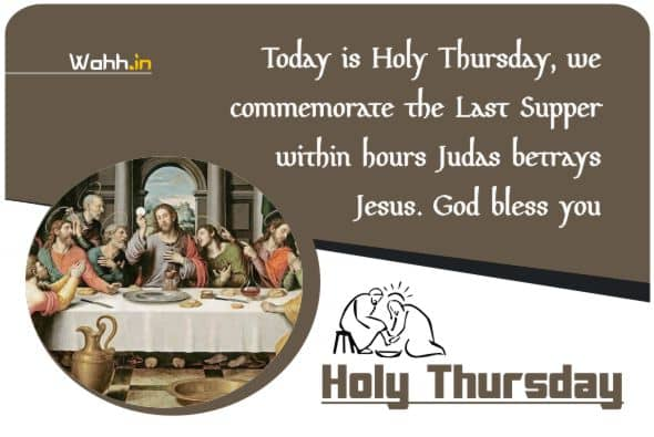 Holy Thursday Prayer Quotes