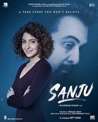 Sanju 2018 Hindi Pre-DVDRip 720p 1Gb x265 New Source HEVC
