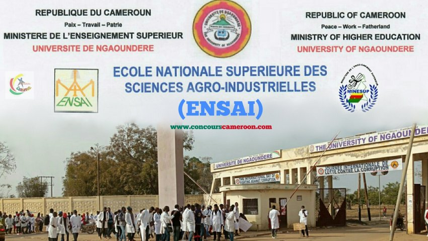 Concours ENSAI de Ngoundéré 2020