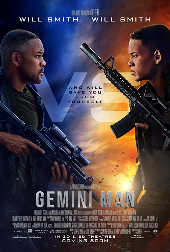 Gemini Man 2019 3D Hindi Dual Audio 480p BluRay 400MB ESubs Download