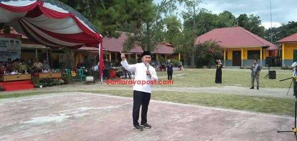 Gubernur Kalteng Tatap Muka Langsung Dengan Para Siswa Kelas XI Dan XII Se Bartim