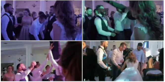 Groom Breaks Spine at his Wedding after Friends Threw Him up and Failed to Make the Catch(Video)