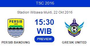 Kick-off Persib Bandung vs Persegres Gresik United Dimajukan Jadi Pkl. 15.30 WIB