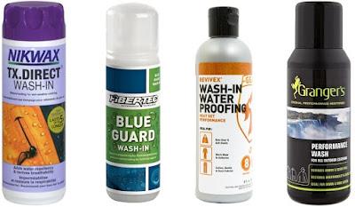 Contoh produk reproofing berjenis wash-in
