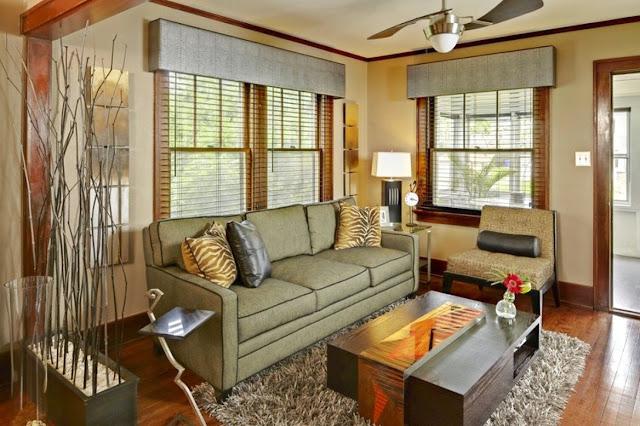 modern valances for living room