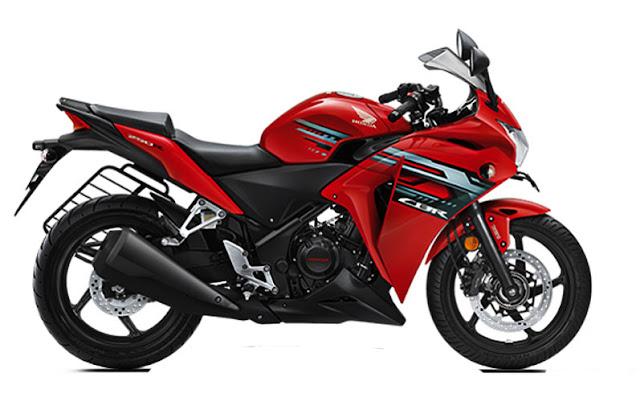 Gambar Honda CBR 250 R merah