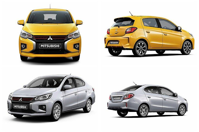 Redesigned 2021 Mitsubishi Mirage and Mirage G4