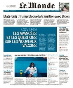 Le Monde Magazine 15 - 16 November 2020 | Le Monde News | Free PDF Download
