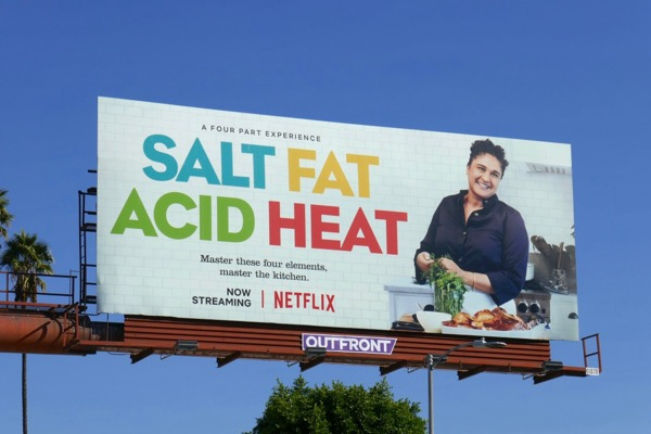 Salt Fat Acid Heat Netflix series billboard